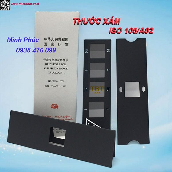 THƯỚC XÁM ISO 105-A02