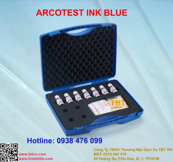 ARCOTEST TEST INK BLUE