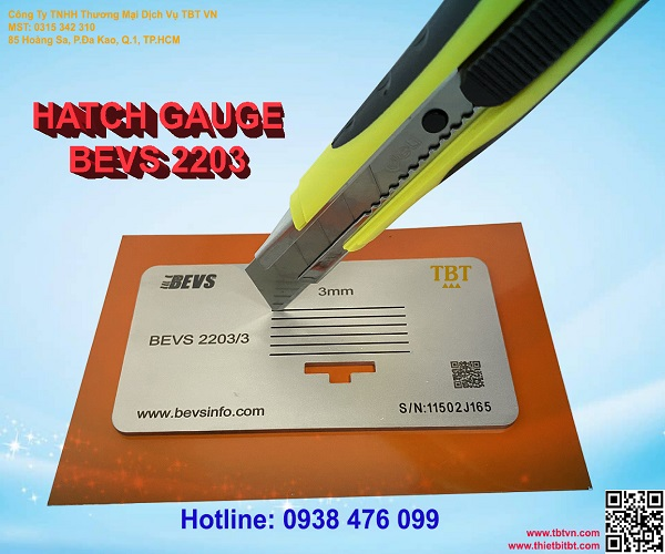 HATCH GAUGE BEVS 2203