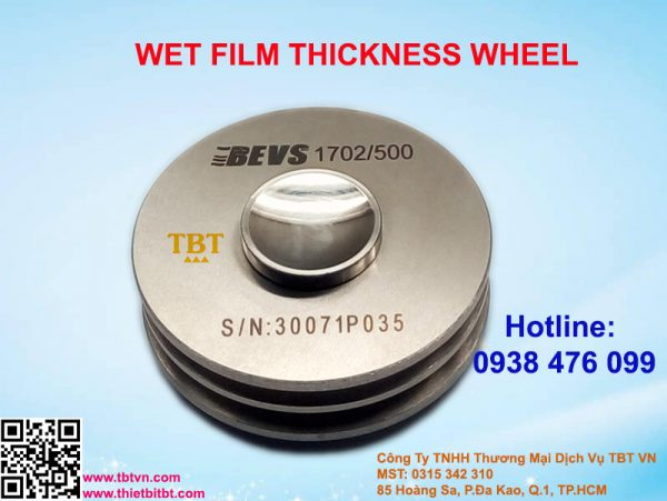 WET FILM THICKNESS WHEEL
