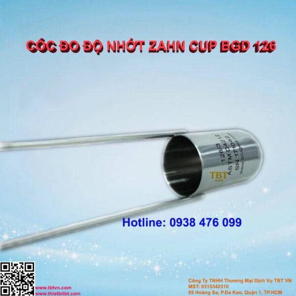 CỐC ĐO ĐỘ NHỚT ZAHN CUP BGD 126