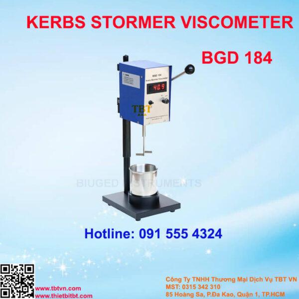 KERBS STORMER VISCOMETER BGD 184