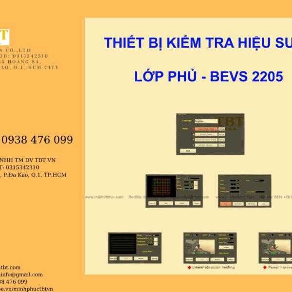 THIẾT BỊ KIỂM TRA HIỆU SUẤT LỚP PHỦ BEVS 2205